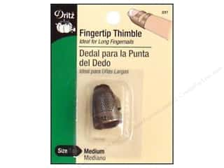 Dritz Thimbles Fingertip Medium