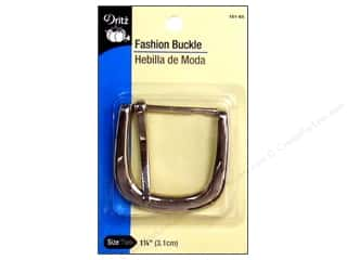 Dritz Fashion Buckle 1.25&quot; Nickel