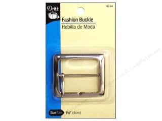 "Dritz Fashion Buckle 1 5/8"" Nickel"