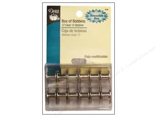 Bobbins Sewing & Quilting: Box of Bobbins by Dritz Class 15 12 pc.