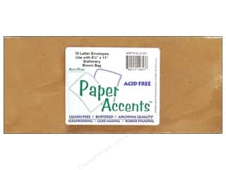 Paper Accents Envelope 9.25x4 Letter Brown Bag