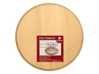 Walnut Hollow Pine Circle Plaque 8 in.