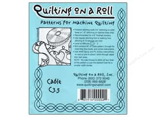 Old Made Quilts Tear Away Stitching Guide: Quilting Made Easy Border On Roll for Machine Quilting 50 ft. Cable 3 1/2 in.