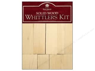 Walnut Hollow $6 - $8: Walnut Hollow Basswood Whittler's Kit 10 pc