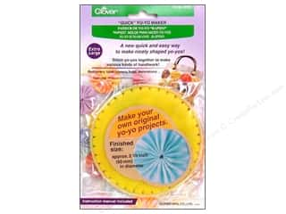 Clover Quick Yo Yo Maker Extra Large 60mm 2.4""