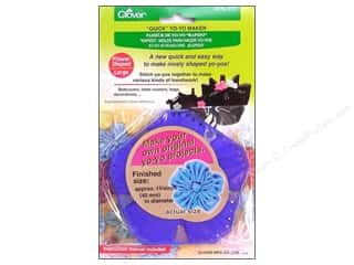 "Guides 4"": Clover Quick Yo-Yo Maker Flower 1 3/4 in. Large"