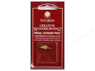 Wood Clockmaking: Walnut Hollow Woodburning Point Texture 'n' Tone 1pc