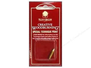 Wood Clockmaking: Walnut Hollow Woodburning Point Cone 1pc
