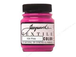 acrylic paint: Jacquard Textile Color 2.25 oz Pink