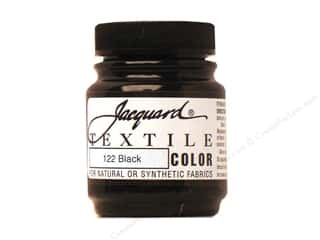 fabric paint: Jacquard Textile Color 2.25 oz Black