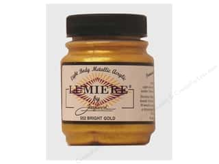 Jacquard Lumiere Paint 2.25 oz. #552 Bright Gold