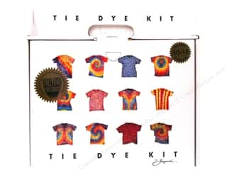 Dyes: Jacquard Tie Dye Kit Large