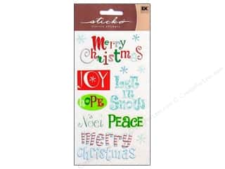 EK Sticko Stickers Merry Christmas