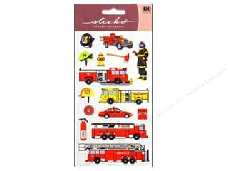 Halloween EK Sticko Stickers: EK Sticko Stickers Fire Department