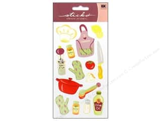 Food Stickers: EK Sticko Stickers Cooking