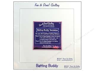 Prairie Sky Quilting Templates Batting Buddy 2pc
