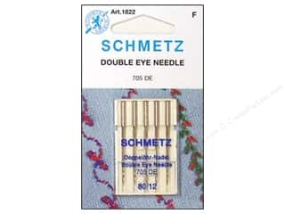 schmetz embroidery needle: Schmetz Double Eye Needle Size 80/12