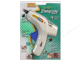 hot glue: Ad Tech Glue Gun Standard Dual Temp Cordless