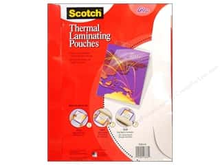 "Scotch: Scotch Laminating Pouch Thermal 8.5""x 11"" 50pc"