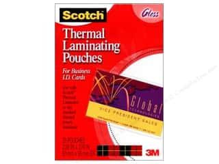 Laminate: Scotch Laminating Pouches Thermal Business Card 20pc