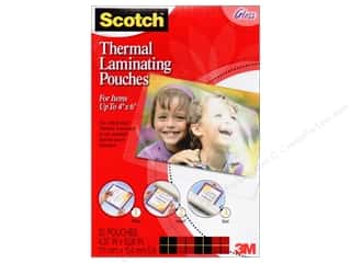 Scotch Laminating Pouches Thermal 4&quot;x 6&quot; 20pc