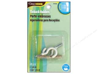"Dritz Home Hardware Tie Back Holders 1.5"" 2 pc"