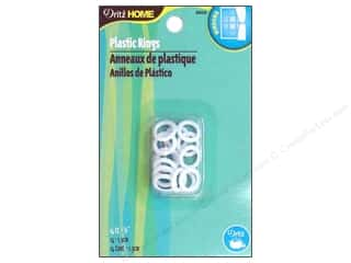 "Dritz Home Plastic Rings 1/2"" 14 pc"