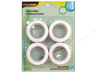 dritz curtain grommets: Dritz Home Curtain Grommets Large 1 9/16 in. White