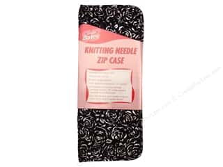 "Bates Suede Microfiber Zip Case 14"" Knit Needle"