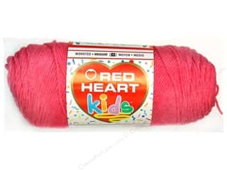 Light Worsted yarn: Red Heart Kids Yarn Pixie Pink
