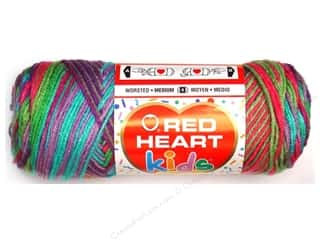 Light Worsted yarn: Red Heart Kids Yarn Playful