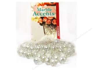 Floral Supplies Floral Containers: Panacea Glass Marbles 100 pc. Lustre Clear