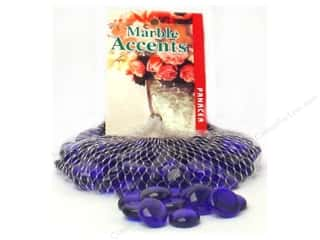 Floral Arranging Toys: Panacea Glass Gems 12 oz. Cobalt Blue
