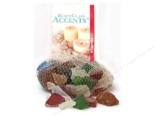 Panacea Decorative Accents Beach Glass Primary Assorted 16oz