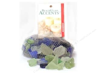 Panacea Decorative Beach Glass Green/IceBlue 16oz