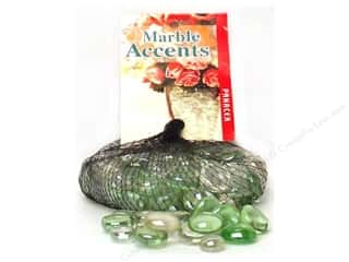 Panacea Decorative Accents Glass Gems Honeydew Assorted 12oz