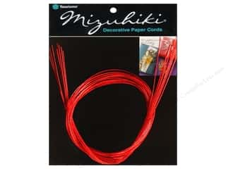Y&amp;C Mizuhiki Paper Cord 10 Strand Red