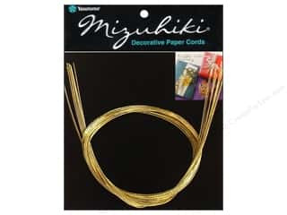 Y&amp;C Mizuhiki Paper Cord 10 Strand 14K Gold