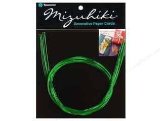 Y&amp;C Mizuhiki Paper Cord 10 Strand Green
