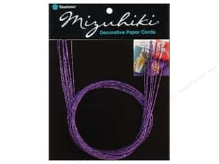Y&amp;C Mizuhiki Paper Cord 10 Strand Silk Purple