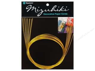 Y&amp;C Mizuhiki Paper Cord 10 Strand Gold