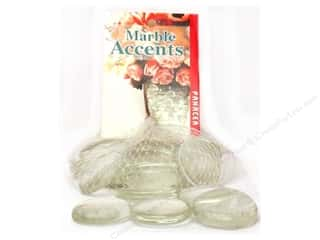 Rocks Flowers: Panacea Jumbo Glass Gems 12 oz. Clear