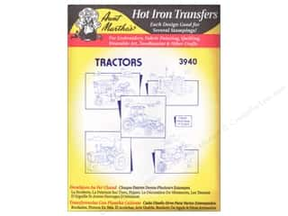 Aunt Martha's Hot Iron Transfer #3940 Tractors
