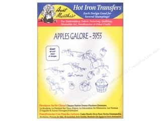 Aunt Martha's Hot Iron Transfer #3953 Apples Galore