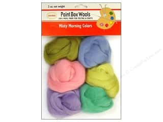 Dolls and Doll Making Supplies $0 - $2: Colonial Needle Paint Box Wools Misty Morning 6 pc