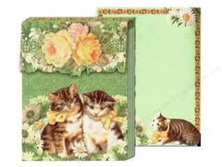 Clearance Blumenthal Favorite Findings: Punch Studio Pocket Note Pad Cameo Kittens