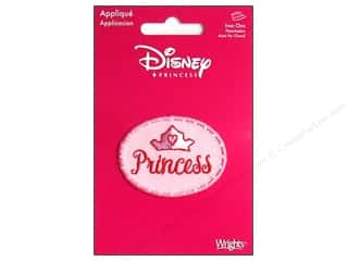 Wrights Appliques Disney Iron On Princess Crown