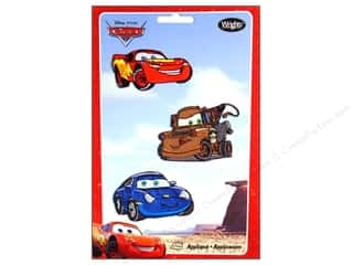 Wrights Appliques Iron On Disney Cars 3 pc