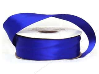 "Blend 1 1/2 in: Offray Ribbon Doubleface Satin 1 1/2"" 50 yd Royal (50 yards)"