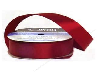 "Offray Ribbon Singleface Satin 7/8"" Wine (20 yards)"